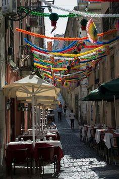 Lisboa em festa do Sant'António :)