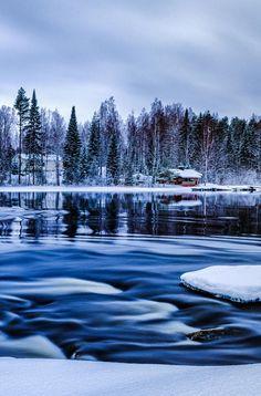 Winter Scene by Anssi karilahti (Finland)