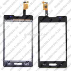 Touch screen Digitizer front glass replacement for For LG E440 Free shipping