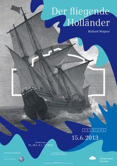 Plakatkampagne der Semperoper Dresden