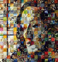 """Saatchi Online Artist: Giorgos Achilleos; Paper, 2007, Assemblage / Collage """"Irma"""""""
