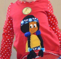 Ottobre shirt yakari appliziert