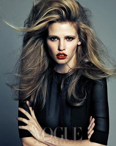 Lara Stone Rocks Calvin Klein for Vogue Korea's August 2012 Cover Shoot | Fashion Gone Rogue: The Latest in Editorials and Campaigns