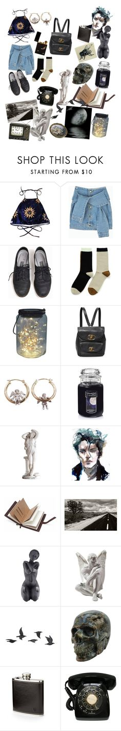 """""""Life in a nut shell"""" by recklessfreak ❤ liked on Polyvore featuring Hansel from Basel, Yankee Candle, Daum, Lladró, Jayson Home and Aspinal of London"""