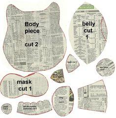 Free Stuffed Bird Sewing Pattern | owl plush pattern by amberwillow scraps owl plush pattern no tutorial ...