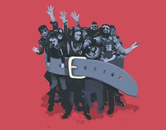 """Check out new work on my @Behance portfolio: """"Tightening the rights of refugees""""…"""