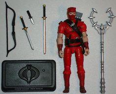 GI Joe 25th Anniversary Wave 3 Cobra Red Ninja, 2007