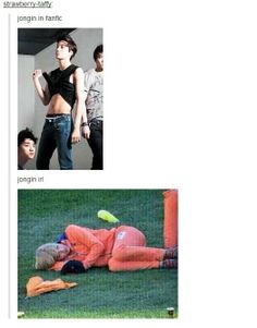 the different between kai and jongin :D