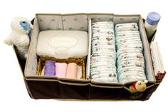 Diaper Caddy - Ultimate Diaper Organizer for Baby