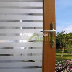Funlife 50x90cm 19.6x35.4in streifen klassisches design Privatsphäre dekoratives glas satiniert fenster vinyl in  von  auf Aliexpress.com