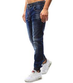 Pánske džínsové jogger nohavice Jeans, Fashion, Moda, Fasion, Jeans Pants, Blue Jeans, Denim