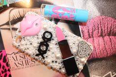 Swarovski Pink Friday Lipstick iphone 4/4s case by slave2beauty, $75.00