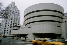 The Solomon R. Guggenheim Museum in New York City: Classic and Iconic New York City Building. Part of our history and culture. #KVNY #NYC