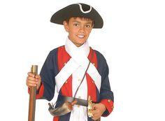 Niños guerra revolucionaria traje - soldado de la revolución americana - militar atuendos