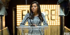 """Taraji P. Henson lights up the screen as Cookie Lyon, the outspoken ex-wife of hip hop mogul Lucious Lyon (Terrence Howard), on the hit show """"Empire,"""" which just won Program of the Year from the TV Critics Assn. Empire Cast, Empire Fox, Empire State, Brad Pitt, Empire Cookie, Cookie Lyon, Take The Fall, Empire Season, Dancing Day"""