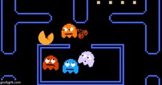 via GIPHY When the ghosts have had enough!! #pacman #gif #retrogame #retrogaming