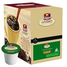 FOLGERS GOURMET SELECTIONS LIVELY COLOMBIAN DECAF K CUP COFFEE 120 COUNT >>> Awesome product. Click the image : K Cups