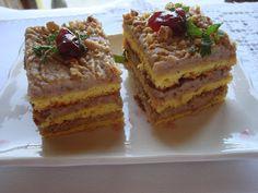 Micul in bucatarie: Prajitura cu crema de nuci