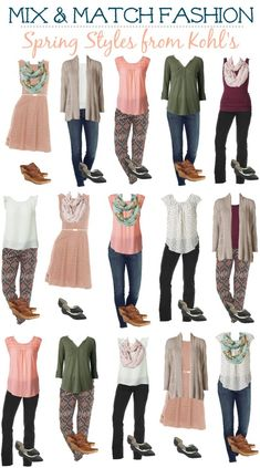 rock and drool kohls mix and match spring styles