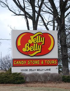 Pleasant Prairie, WI - Jelly Belly Factory Tour If someone made me go to WI