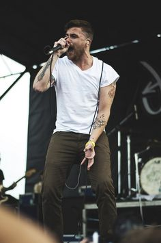 Anthony Green of Circa Survive by mcvickerphotog, via Flickr