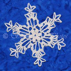 Wind River Snowflake - Free crochet pattern from Snowcatcher.