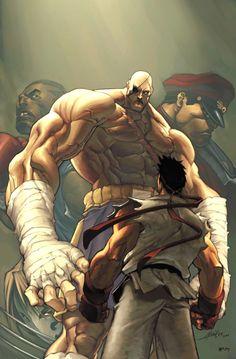 Street Fighter 4 Cover by UdonCrew.deviantart.com on @deviantART