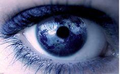 Dark Blue. Selective. Reflection.
