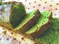 超濃厚な抹茶パウンドケーキ