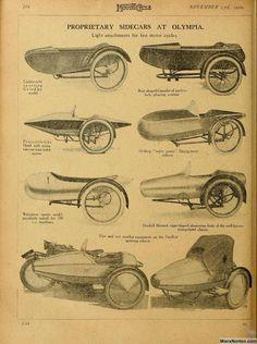 Ajs Motorcycles, Antique Motorcycles, Motorcycle Trailer, Motorcycle Wheels, Sidecar Motorcycle, Bike With Sidecar, Three Wheel Bicycle, Ducati, E Biker