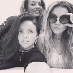 Jesy Nelson Jade Thirlwall and Perrie Edwards