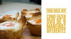 COMO FAZER OVO DE 9 MANEIRAS CRIATIVAS | FOOD HACKS