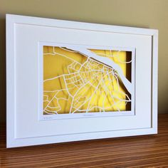 BBpapercuts make papercut maps of Cities, Towns and Villages. Us Map, Me On A Map, Waterford Ireland, Ireland Map, Map Shop, First Wedding Anniversary, Irish Art, Custom Map, 60th Birthday
