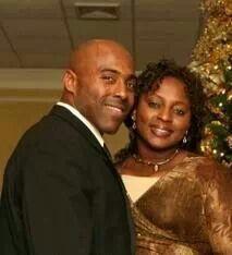 Marcia and her husband