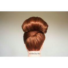 High bun.  Follow me on Instagram@styles.by.tia High Bun, All Things Beauty, Follow Me On Instagram, Hair, Style, Swag, Strengthen Hair, Outfits