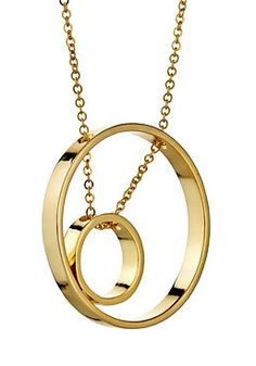 Inner Circle Necklace 110 in Yellow Gold $172