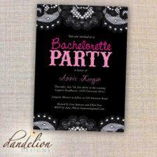 Bachelorette Party Invitations & Ideas