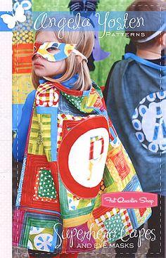 Superhero Capes Pattern Angela Yosten Patterns