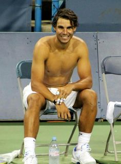 Look at that smile!! Rafael Nadal