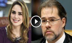 😎Rachel Sheherazade 'arrasa' Toffoli e Janot ao comentar delação da OAS'...
