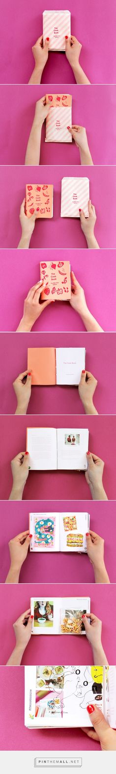 The Cook Book: The Bite Size Edition on Behance - created via https://pinthemall.net