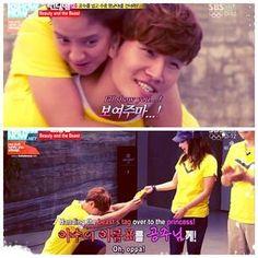 winning for her like a boss,jaja Kim Jong Kook and Song Ji Hyo, Running Man