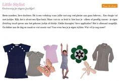 www.littlestylist.com: de webshop voor de allerjongste modeontwerpster in Flavourites.  Meisjeskleding: customize hier je eigen jurk, tuniek of schooltas.   Little Stylist - In de media
