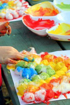 cottonball, rainbow, R, weather