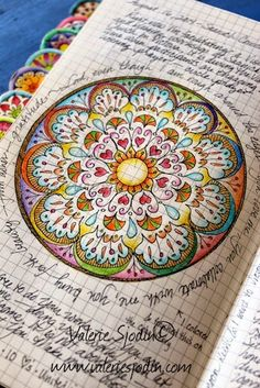visual blessings - mandala