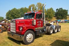 Mack Trucks, Big Rig Trucks, Semi Trucks, Cool Trucks, Trailers, White Cab, Western Star Trucks, Truck Transport, White Truck