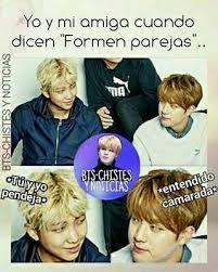 Resultado de imagen para memes de bts en español 2017
