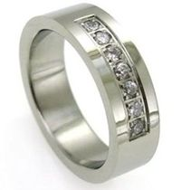 Men's CZ wedding bands that will save money and look good Wedding Ring Guide, Cz Wedding Bands, Cheap Wedding Rings, Good And Cheap, Engagement Rings, Money, Jewelry, Inexpensive Wedding Rings, Enagement Rings
