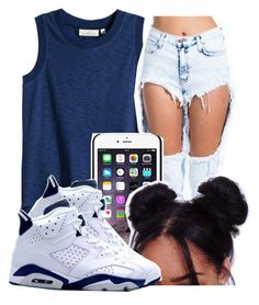 """Untitled #245"" by oh-thatasia ❤ liked on Polyvore featuring H&M, NIKE and Retrò"