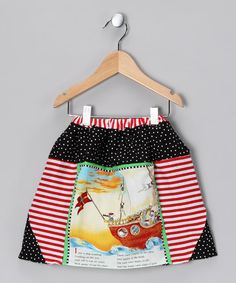 Take a look at this Pirate Brigade Nursery Rhyme Skirt - Infant & Toddler by High Seas Adventure Collection on #zulily today!